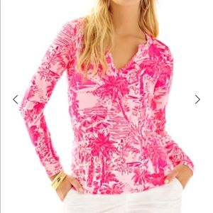 Lilly Pulitzer Rule Breakers Kayleigh Top